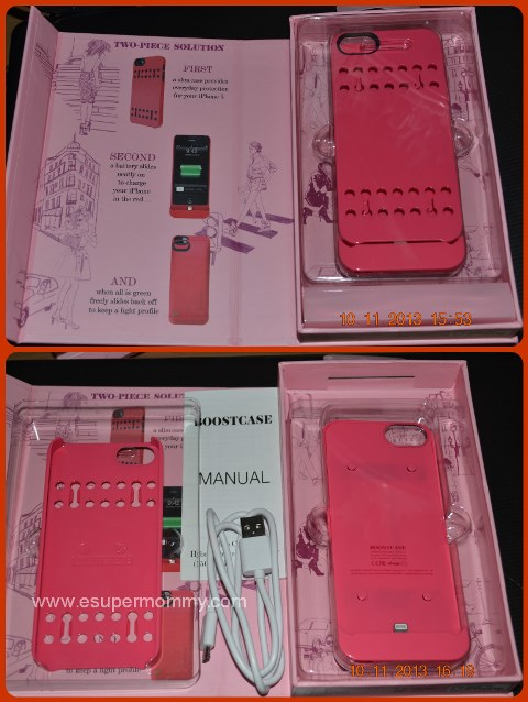 Unboxing Boostcase for iPhone 5