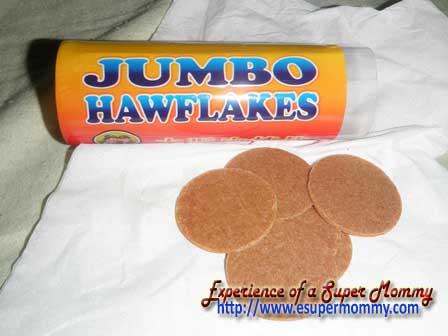 Hawflakes - kid's snack