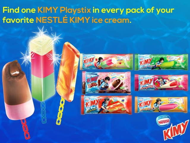 Nestle Kimy Playstix
