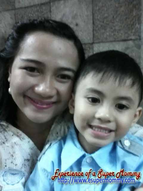 Glowing inside - Mommy Jem and son Jelvin