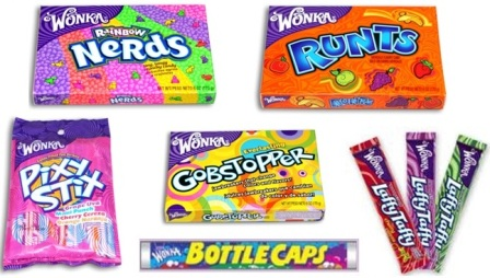 Wonka Candies