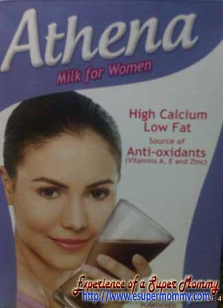 Athena milk for women