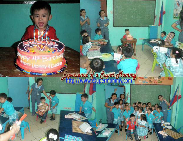Kid's birthday in school