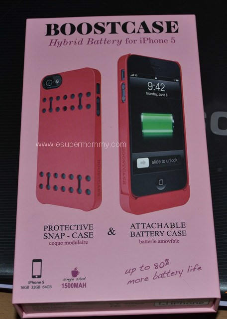 Boostcase for iPhone 5