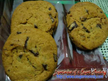 Chocolate Cookies for baon