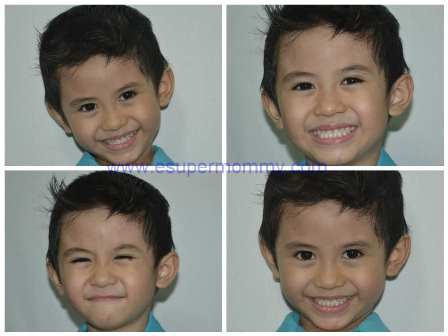 cute Filipino kinder boy