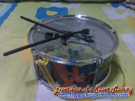 alternative noisemaker for new year children's drum set