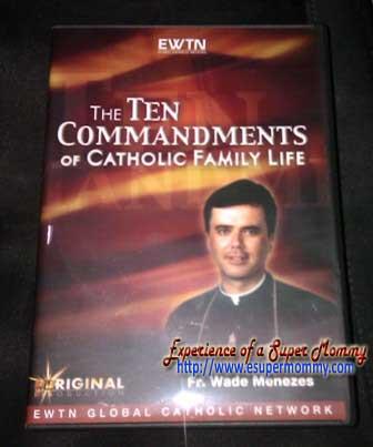 The Ten commandments EWTN DVD