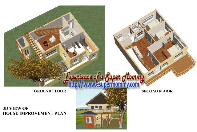 3d house architectural design
