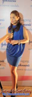 Judy Ann at Johnson's Press release
