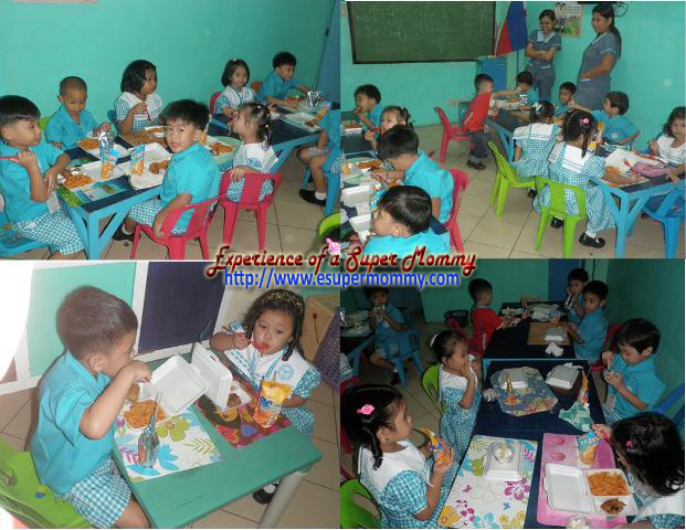 kid's birthday celebration in school