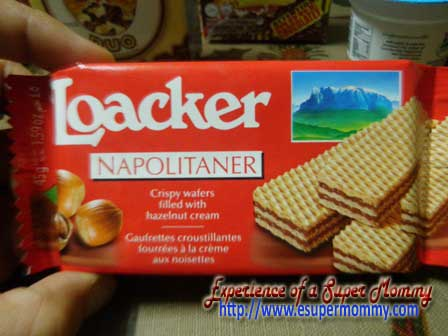 loacker napolitaner calorie count
