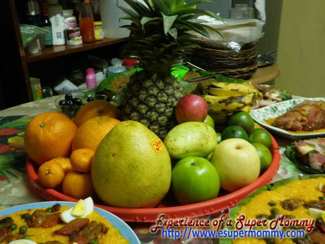 lucky fruits to prepare for new year