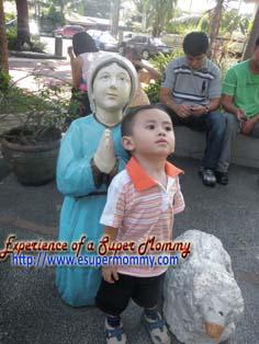 Cute Filipino toddler