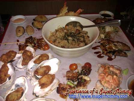 Food from mrkurosawa resorts world manila
