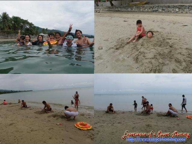 Swimming at Nitivos Palawan