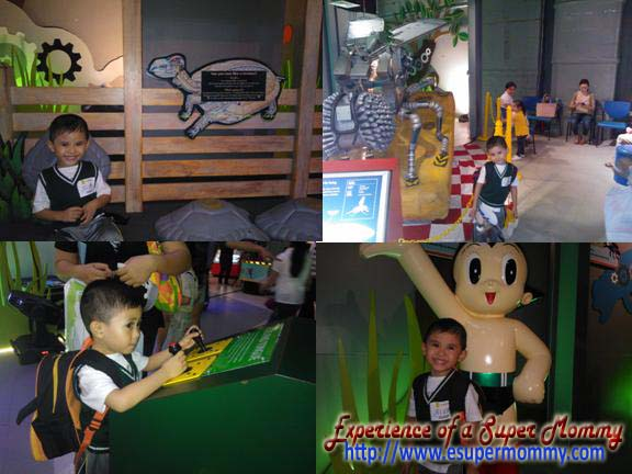 Filipino boy at The Robot Zoo