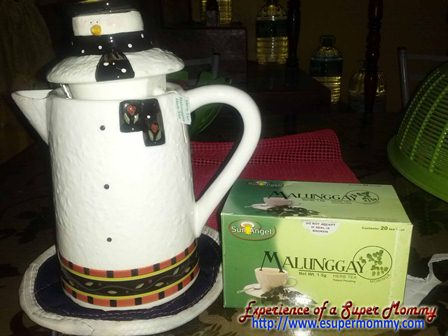 Sun Angel Malunggay tea for breastfeeding