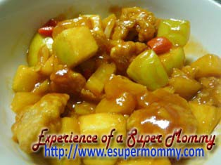 healthy sweet and sour pork recipe