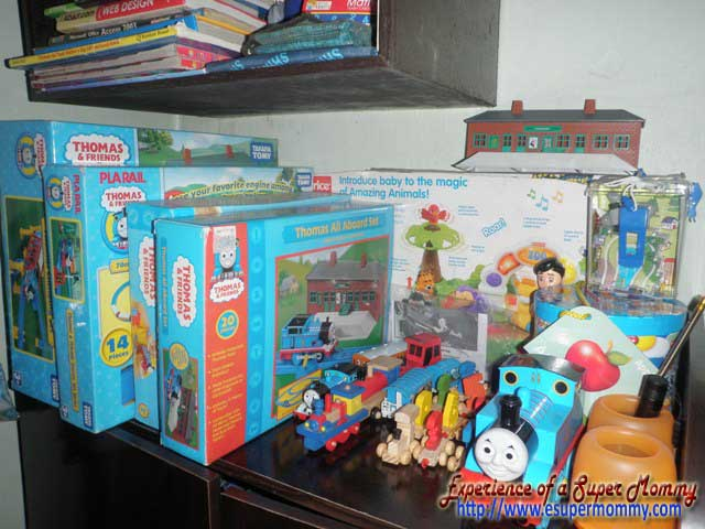 Thomas and friends toy collection