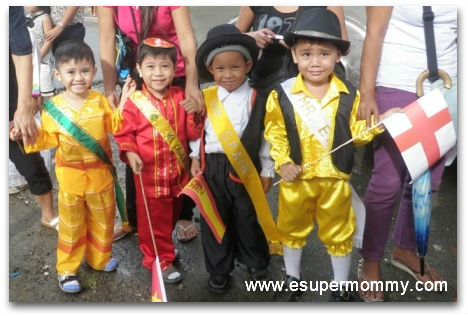 united nations costume- boys