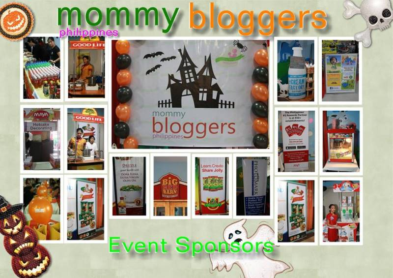 Mommy Bloggers Philippines Halloween Sponsors 2014