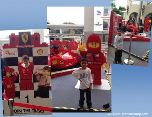 Featuring: The Limited-Edition Shell V-Power Nitro+ Lego® Collection