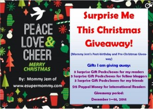 Win Surprises in Surprise Me This Christmas Giveaway!