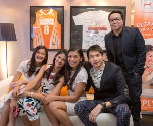 Top Volleyball Athletes are the PLDT HOME Ultera New Brand Ambassadors
