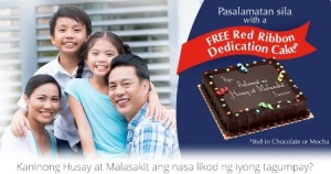 Free Cake in Husay at Malasakit Promo