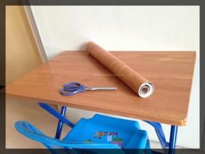 DIY: Adhesive Shelf Paper for Wood Furniture