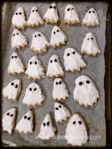 Ghost Kiddie Cookies Recipe
