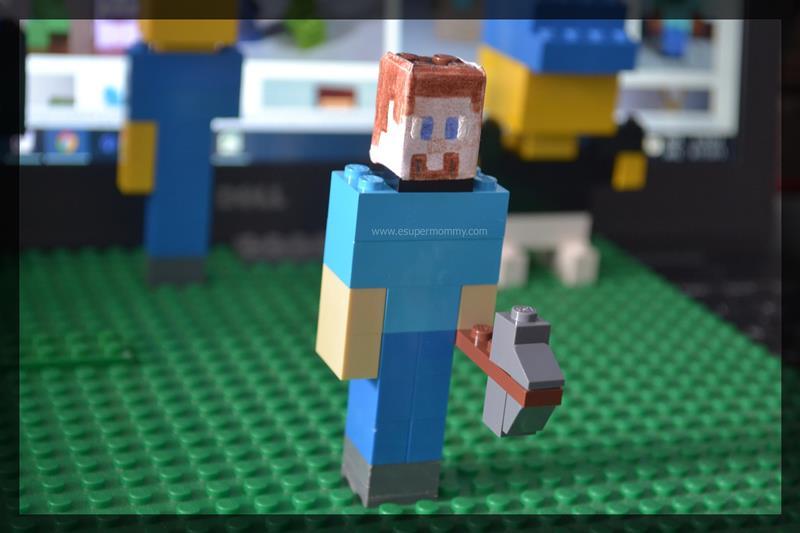 Do-it-yourself Lego Minecraft
