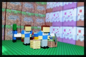 3 Lego Minecraft Steve DIY