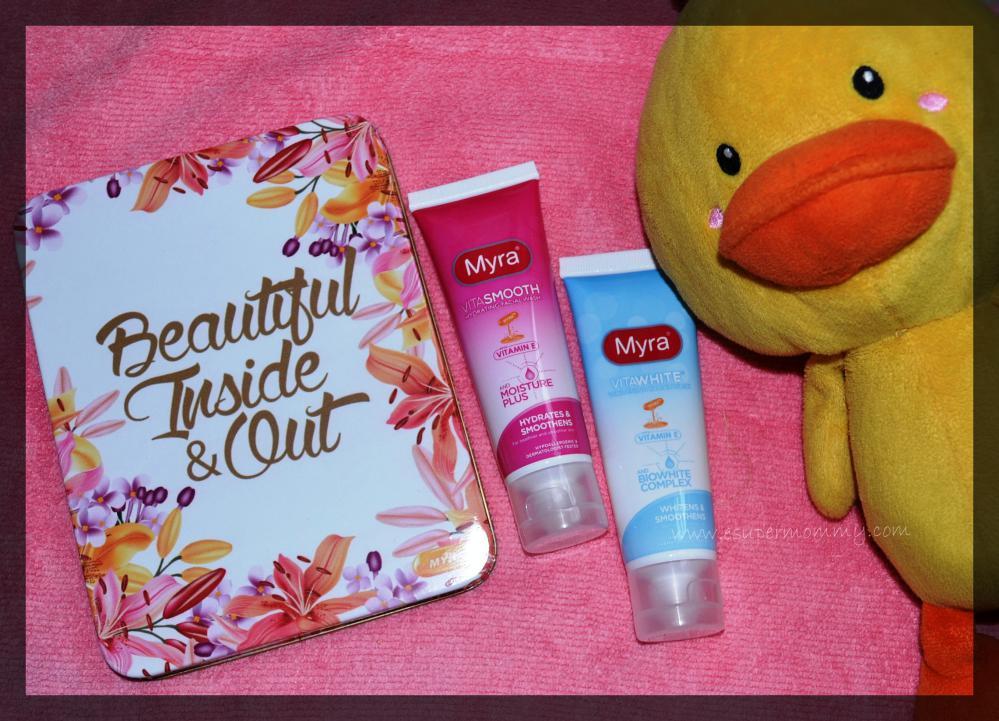 Myra VitaWhite Facial Wash