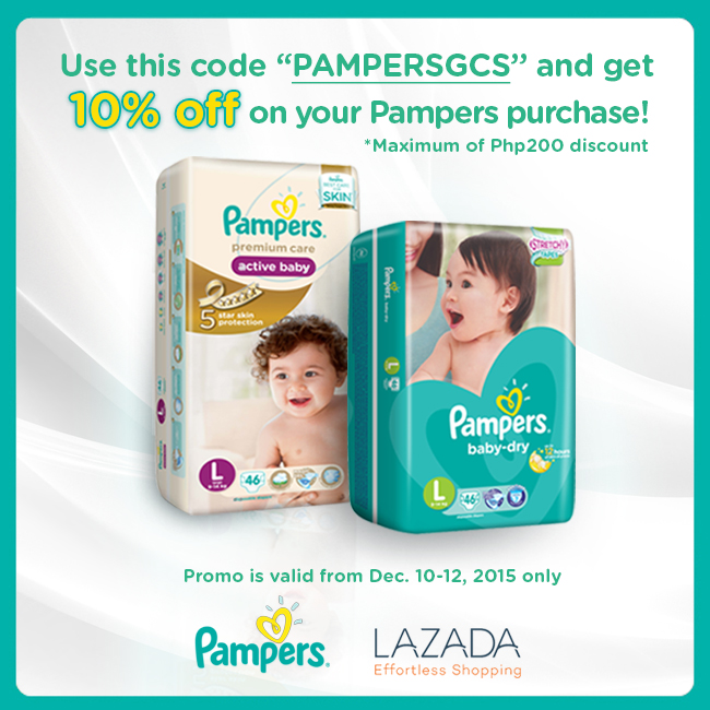 New Pampers Baby Dry Lazada Promo