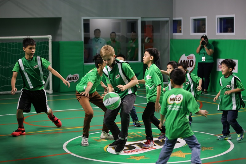 The MILO Stadium is KidZania Manila's state-of-the-art, kid-sized sports arena where they get to live out their big sport dreams.