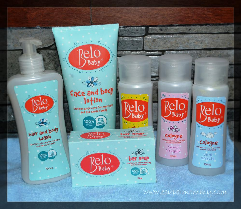 All Natural Belo Baby products