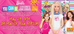 Barbie You Can Be Anything Day