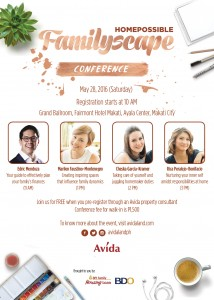 Join Avida's Homepossible: Familyscape Conference