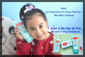 Join Belo Baby Giveaway!