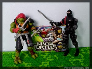 TMNT Out of the Shadows Toy Review