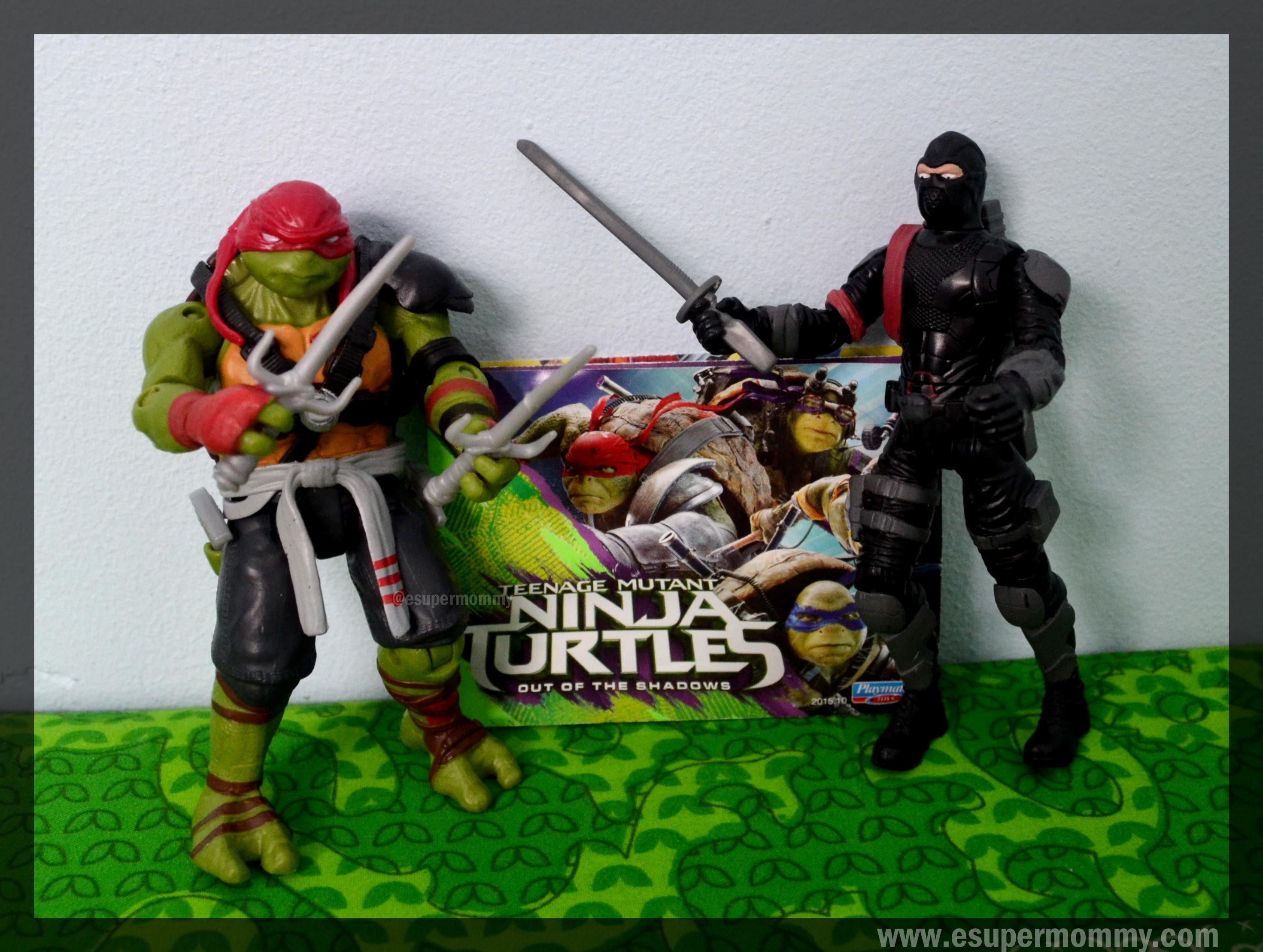 TMNT Out of the Shadows Raphael and Foot Soldier
