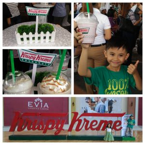 Krispy Kreme's First Concept Store in Evia Center