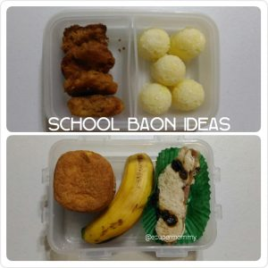 School Baon Ideas: Nuggets, Rice Balls, Snacks