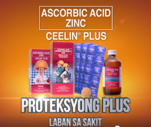 Proteksyong Plus ng Ceelin Plus with Zinc