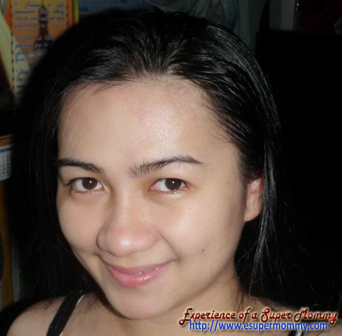 Beautiful face with Emu Oil